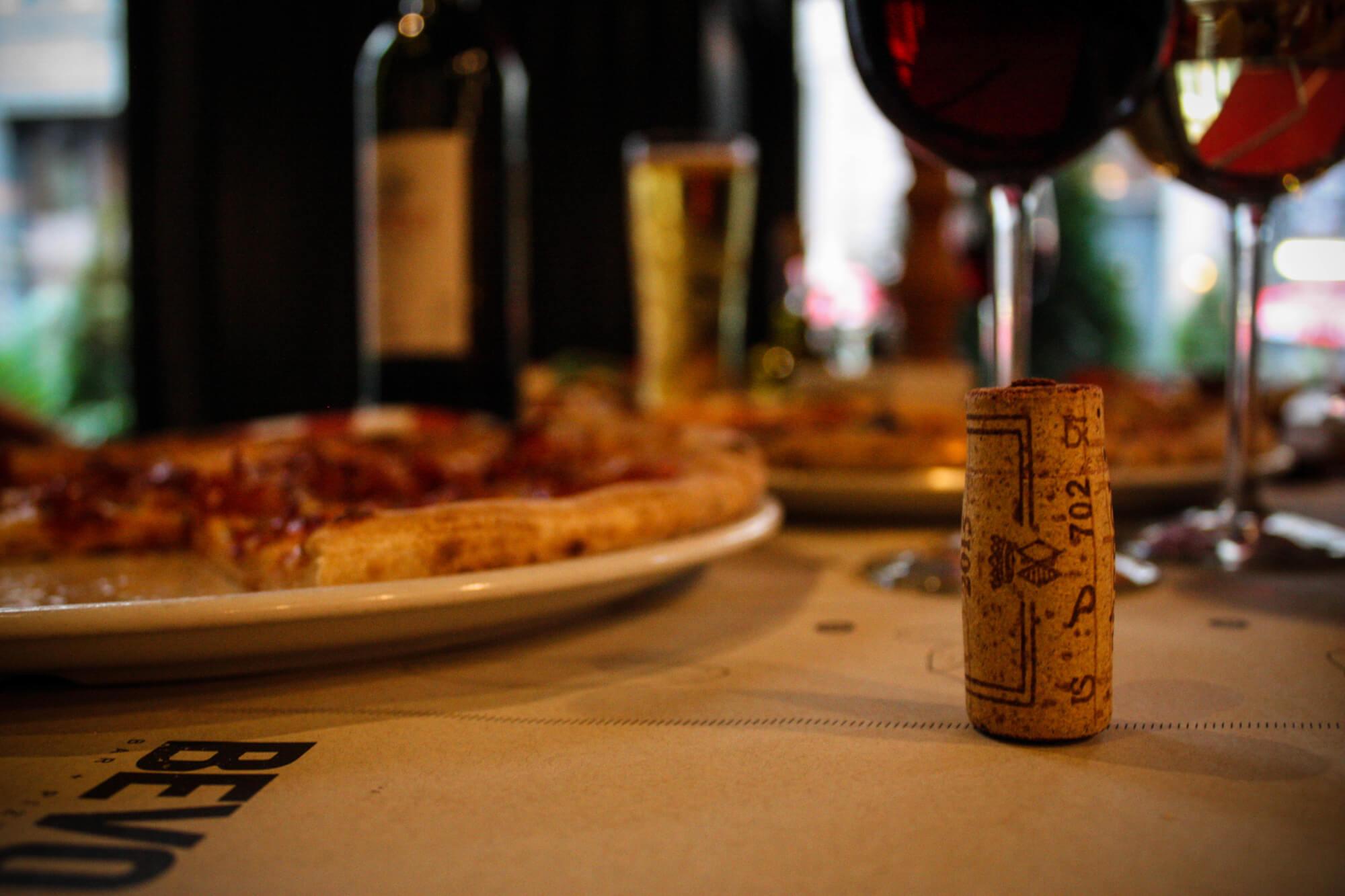 BEVO - vin et pizza
